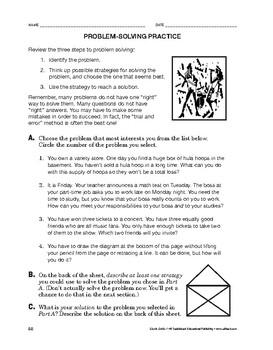 Study Skills: Problem-Solving Practice