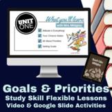 Study Skills Setting Goals & Priorities Video Lesson