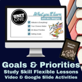 Study Skills Setting Goals & Priorities Distance Learning