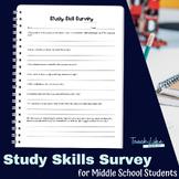 Study Skills Survey