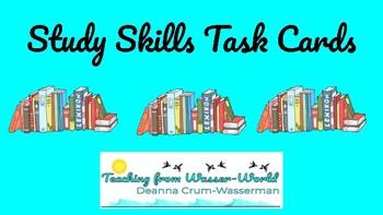 Study Skills Task Cards