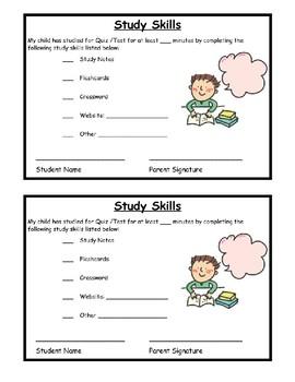 Study Skills Test Prep
