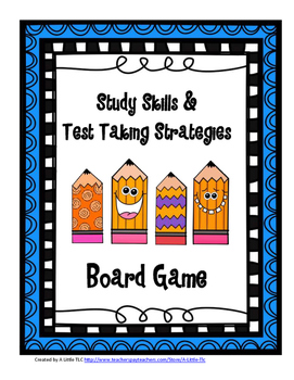Study Skills & Test Taking Strategies Board Game