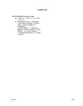 Study Skills: Textbooks: Using the Index