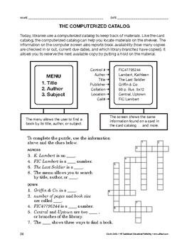 Study Skills: The Computerized Catalog