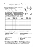 Study Skills: Time Management: Tracking Your Time