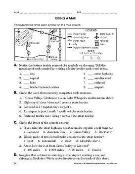 Study Skills: Using a Map