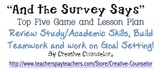 Study Skills and Academic Success Tips Power PointGAME- Goal Setting Lesson