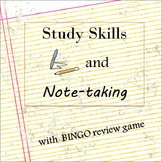 Study Skills and Note-taking