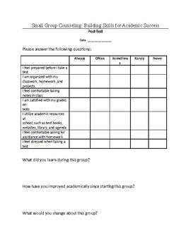 Study Skills: post-group assessment