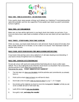 Study Skills workbook
