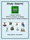 Study Smarts: Multiple Intelligences Vocabulary and Spelli