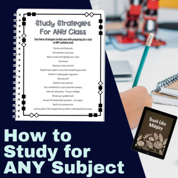 Study Strategies for Intermediate Students