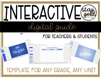 Study Sync Digital Guide Template
