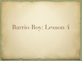 Study Sync's Barrio Boy Lesson 4