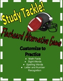 Study Tackle- A Flashcard Alternative Game