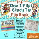 STUDY SKILLS AND TIPS: DON'T FLIP! FLIP BOOK