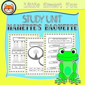 "Book Companion/Study Unit ""Nanette's Baguette"" by Mo Willems"