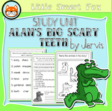 """Book Companion/Book Report """"Alan's Big Scary Teeth"""" by Jarvis"""