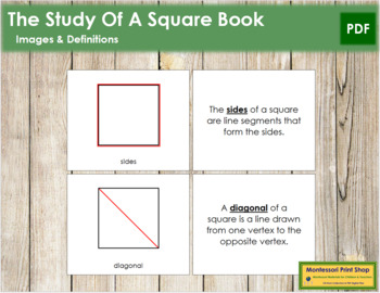Study of a Square: Book