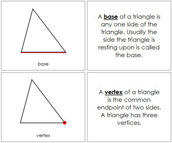 Study of a Triangle: Book