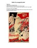 Study of a Soviet propaganda poster