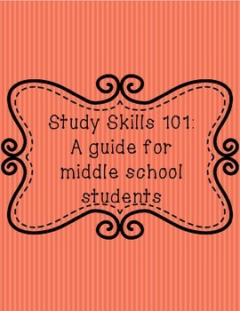 Study skills 101: A guide for middle school students