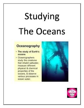 Study the Ocean
