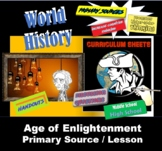 Honors World History Enlightenment Primary Sources