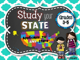 Study your State: Social Studies Interactive Notebook