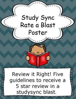 StudySync Rate a Blast Poster