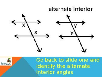Studying Angles Concentration PowerPoint