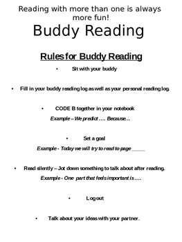 Studying Characters Across a Series / Buddy Reading