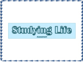 Studying Life Introduction Assessment Quiz
