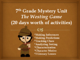 Mysteries: The Westing Game Novel Study