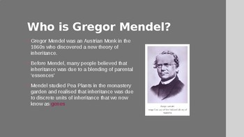 Studying Pea Plants like Gregor Mendel