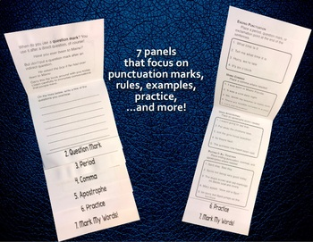 Studying Punctuation Marks — The Language Arts Flip Book Series