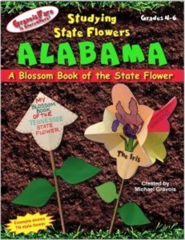 Studying State Flowers—ALABAMA: A Blossom Book of the State Flower