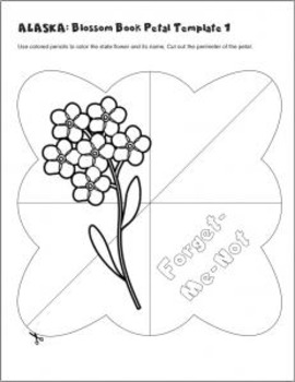 Studying State Flowers—ALASKA: A Blossom Book of the State Flower