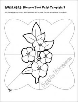 Studying State Flowers Arkansas A Blossom Book Of The State Flower