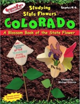 Studying State Flowers—COLORADO: A Blossom Book of the State Flower