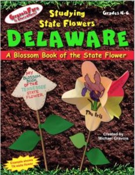 Studying State Flowers—DELAWARE: A Blossom Book of the State Flower