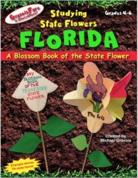 Studying State Flowers—FLORIDA: A Blossom Book of the State Flower