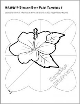 Studying State Flowers—HAWAII: A Blossom Book of the State Flower