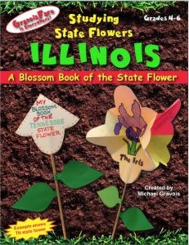 Studying State Flowers—ILLINOIS: A Blossom Book of the Sta
