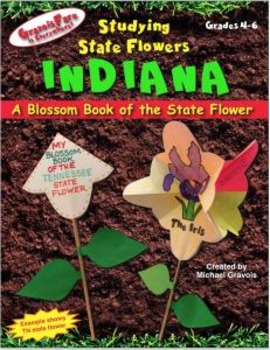 Studying State Flowers—INDIANA: A Blossom Book of the State Flower