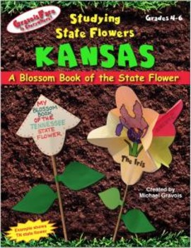 Studying State Flowers—KANSAS: A Blossom Book of the State Flower