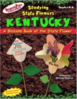 Studying State Flowers—KENTUCKY: A Blossom Book of the State Flower