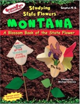 Studying State Flowers—MONTANA: A Blossom Book of the State Flower