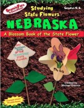 Studying State Flowers—NEBRASKA: A Blossom Book of the State Flower